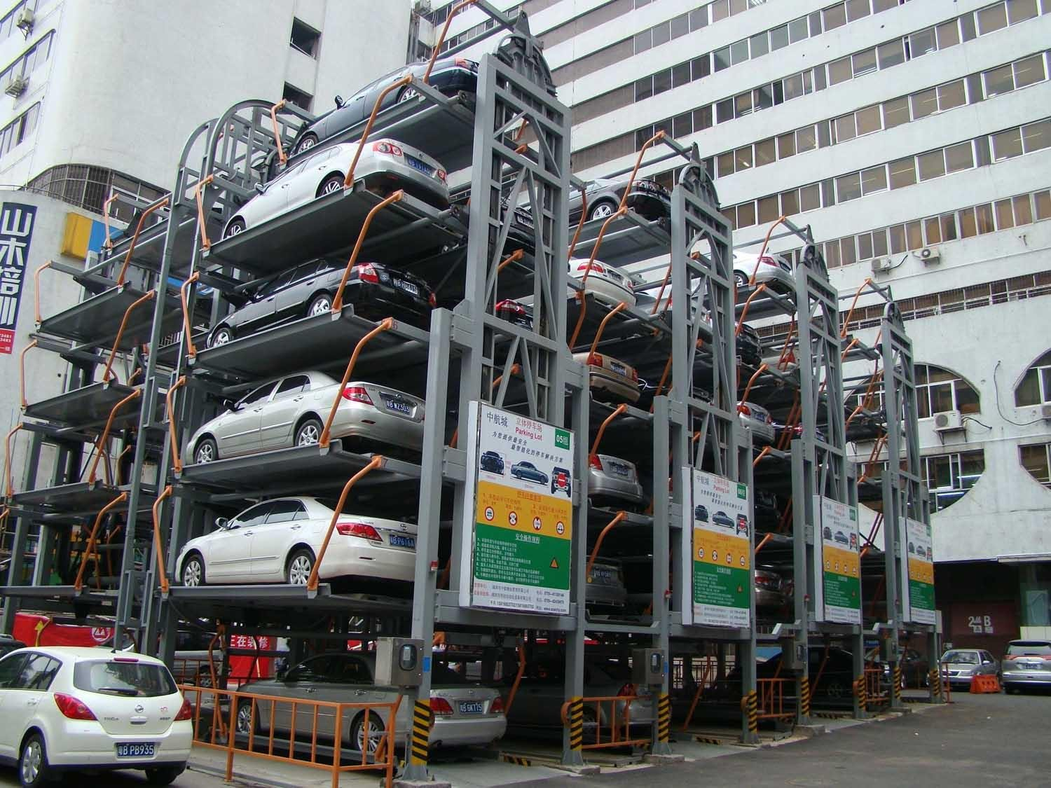 In the next few years, the market size of mechanical parking equipment will continue to increase at a rate of about 20%